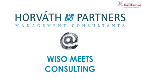 "Towards entry ""Horváth & Partners as guests at WISO Meets Consulting!"""